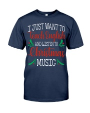 I JUST WANT TO TEACH ENGLISH  Classic T-Shirt tile