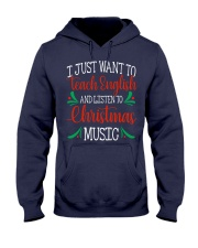 I JUST WANT TO TEACH ENGLISH  Hooded Sweatshirt tile