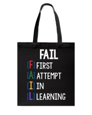 FIRST ATTEMPT IN LEARNING Tote Bag thumbnail