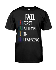FIRST ATTEMPT IN LEARNING Premium Fit Mens Tee thumbnail