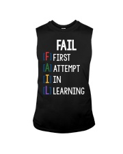 FIRST ATTEMPT IN LEARNING Sleeveless Tee thumbnail