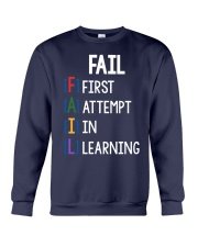 FIRST ATTEMPT IN LEARNING Crewneck Sweatshirt thumbnail