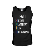 FIRST ATTEMPT IN LEARNING Unisex Tank thumbnail
