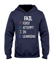 FIRST ATTEMPT IN LEARNING Hooded Sweatshirt thumbnail