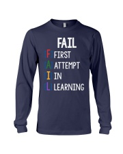 FIRST ATTEMPT IN LEARNING Long Sleeve Tee thumbnail