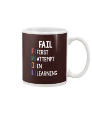 FIRST ATTEMPT IN LEARNING Mug thumbnail