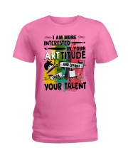 ArtTITUDE Ladies T-Shirt thumbnail