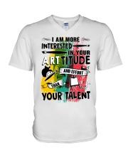 ArtTITUDE V-Neck T-Shirt thumbnail