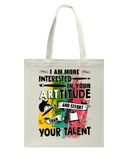 ArtTITUDE Tote Bag front