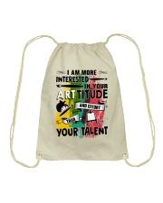 ArtTITUDE Drawstring Bag front