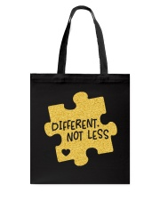 Different Not Less Tote Bag thumbnail