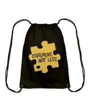 Different Not Less Drawstring Bag thumbnail