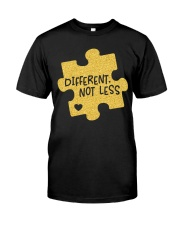 Different Not Less Classic T-Shirt front