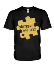 Different Not Less V-Neck T-Shirt thumbnail