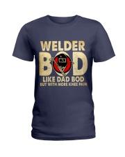 Welder Bod Ladies T-Shirt thumbnail