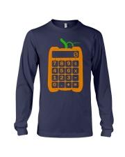 math computer Halloween Long Sleeve Tee thumbnail