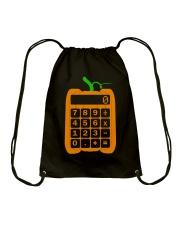 math computer Halloween Drawstring Bag thumbnail