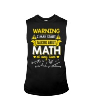 Talking about Math at any time Sleeveless Tee thumbnail