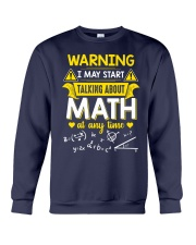 Talking about Math at any time Crewneck Sweatshirt thumbnail