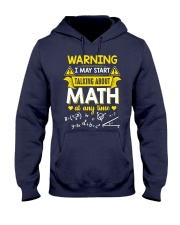 Talking about Math at any time Hooded Sweatshirt thumbnail