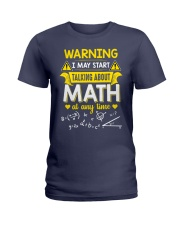 Talking about Math at any time Ladies T-Shirt thumbnail