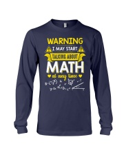 Talking about Math at any time Long Sleeve Tee thumbnail