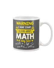 Talking about Math at any time Mug thumbnail