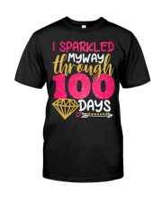I SPARKLED MYWAY THROUGH 100 DAYS Classic T-Shirt tile