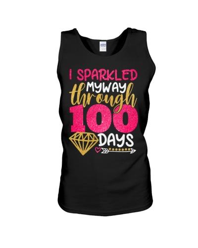 I SPARKLED MYWAY THROUGH 100 DAYS