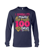 I SPARKLED MYWAY THROUGH 100 DAYS Long Sleeve Tee tile