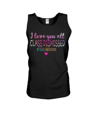 all class dismissed Teacher2020 Unisex Tank thumbnail