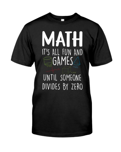 Math it's all fun and games
