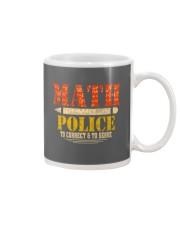 MATH POLICE TO CORRECT AND TO SERVE Mug thumbnail