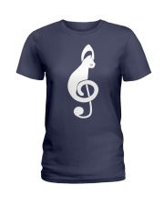 CAT MUSIC Ladies T-Shirt thumbnail