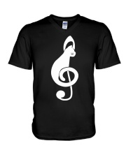 CAT MUSIC V-Neck T-Shirt thumbnail