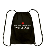The one where we Teach Drawstring Bag thumbnail