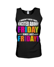 I HAVEN'T BEEN THIS EXCITED ABOUT FRIDAY Unisex Tank thumbnail