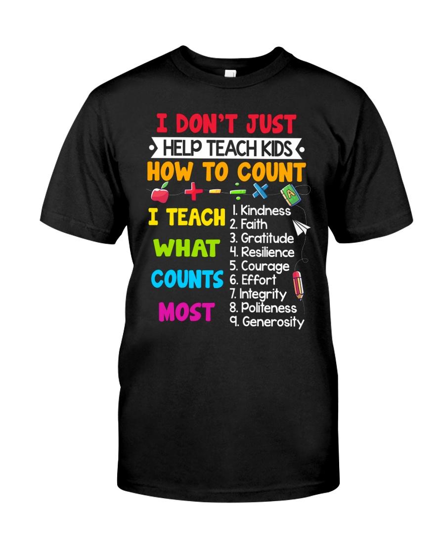 Teach Kids Counts Classic T-Shirt