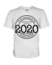 Kindergarten 2020 V-Neck T-Shirt thumbnail