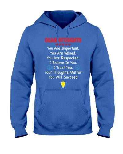 Teacher Shirt - Dear Students