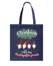 CHRISTMAS WITH MY KINDERGARTEN GNORMICS Tote Bag thumbnail