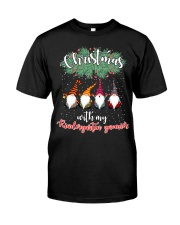 CHRISTMAS WITH MY KINDERGARTEN GNORMICS Premium Fit Mens Tee tile