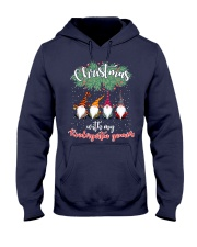 CHRISTMAS WITH MY KINDERGARTEN GNORMICS Hooded Sweatshirt thumbnail