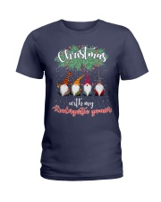 CHRISTMAS WITH MY KINDERGARTEN GNORMICS Ladies T-Shirt thumbnail