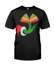 LIBRARIAN CHRISTMAS Classic T-Shirt front