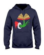 LIBRARIAN CHRISTMAS Hooded Sweatshirt thumbnail