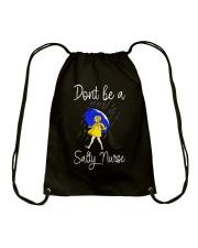 Salty Nurse Drawstring Bag thumbnail