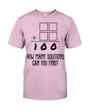 HOW MANY SOLUTIONS CAN YOU FIND Classic T-Shirt thumbnail