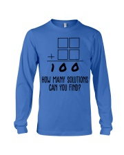 HOW MANY SOLUTIONS CAN YOU FIND Long Sleeve Tee thumbnail