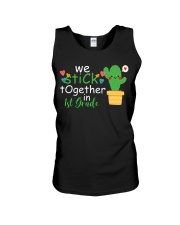 We stick together in 1st Grade Unisex Tank thumbnail